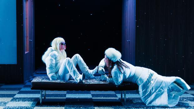 Una escena de «Àngels a Amèrica», de Tony Kushner