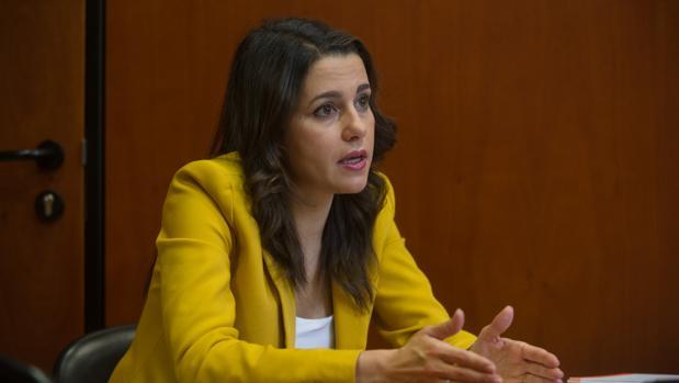 Inés Arrimadas, la líder de Ciudadanos en Cataluña