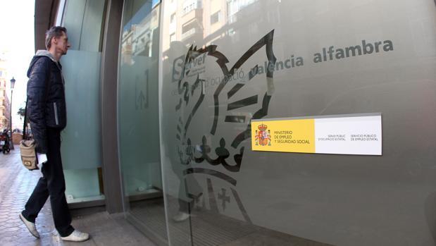Oficina del paro en Valencia
