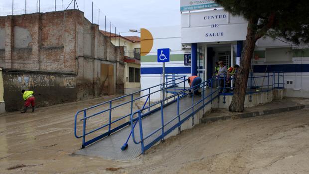 La riada del 8 de septiembre también inundó el centro de salud