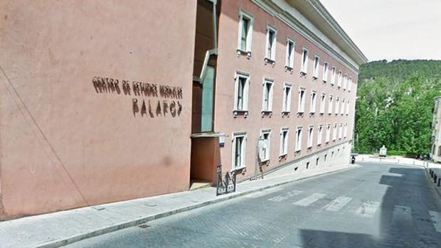 Fahcada del Conservatorio de Música de Cuenca