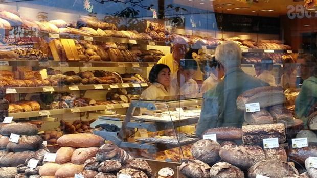 Una panadería en una imagen de archivo