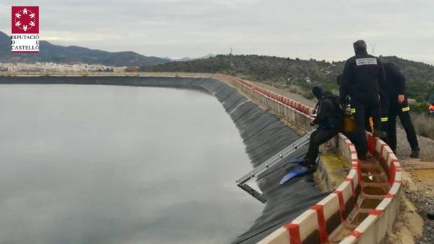 Imagen del operativo del Consorcio de Bomberos de Castellón