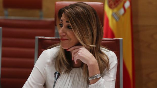 Susana Díaz, presidenta de la Junta andaluza