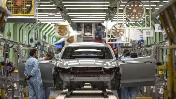 Planta de producción de Ford en Almussafes