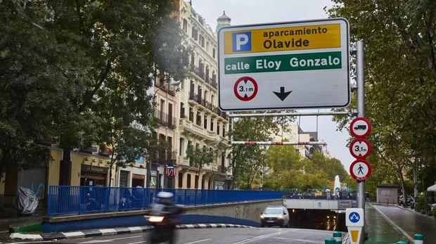 El aparcamiento de la plaza de Olavide será el primero del año en remunicipalizarse