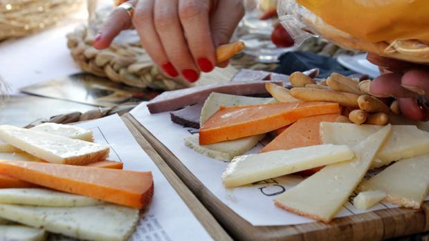 Algunos de los quesos de Castilla-La Mancha premiados en los World Cheese Awards