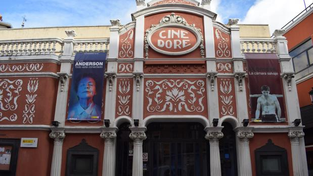 El Cine Doré, en la calle Santa Isabel 3, exhibe desde 1989 las películas de la Filmoteca Española