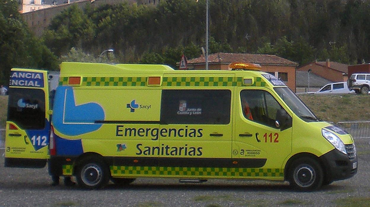 Fallece una niña de 7 años en un accidente en Ávila