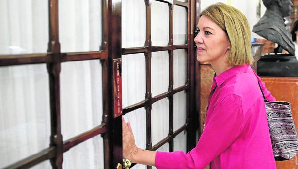 María Dolores de Cospedal, el pasado verano en el Congreso de los Diputados