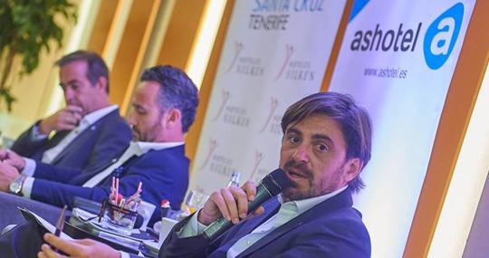 El presidente de Ashotel, Jorge Marichal
