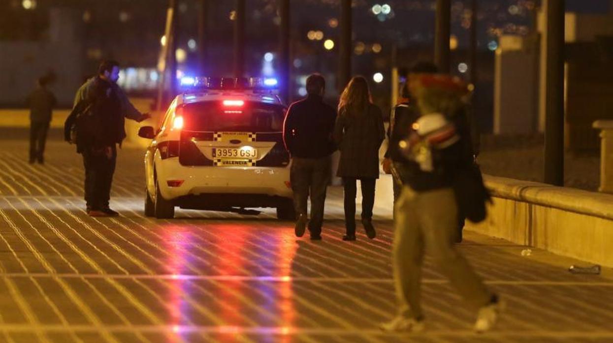 La Policía interviene en dos agresiones mutuas de parejas el mismo día en Valencia
