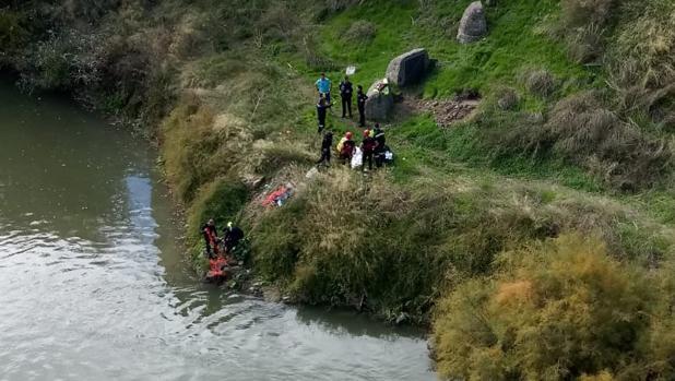 «No tuve ninguna duda, lo volvería a hacer», dice Enrique, el policía que salvó la vida a la mujer en el río
