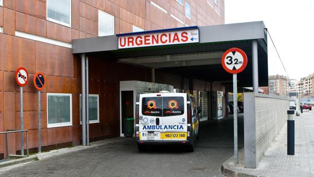 Entrada de Urgencias del hospital Virgen de la Concha de Zamora