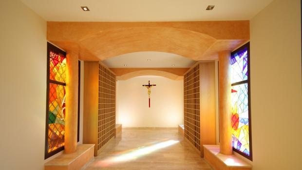 Imagen de archivo de un columbario en una iglesia de Sevilla