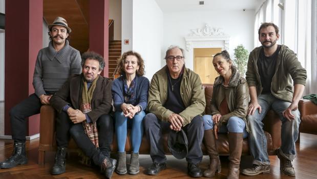 La compañía tratral Els Joglars, en el Teatro Calderón de Valladolid