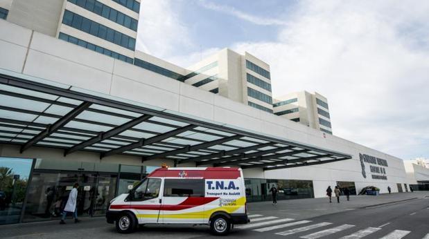 Acceso a un hospital en Valencia