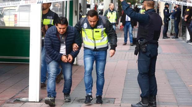 En la imagen, uno de los detenidos en la red latina de proxenetas