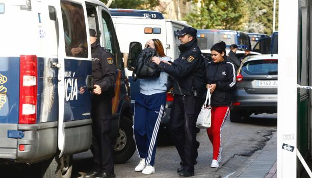 Macrooperación policial en Arganzuela