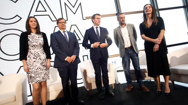 Presentación del nuevo Campus Innova de la UDC ayer en La Coruña