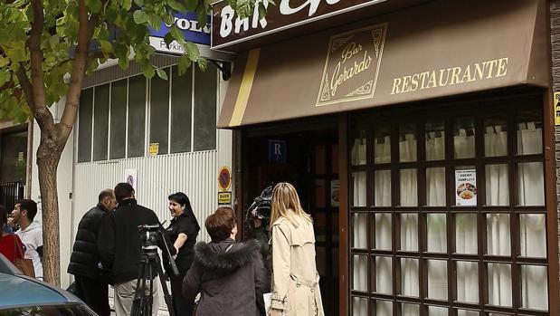 Restaurante en el que trabajaba el desaparecido