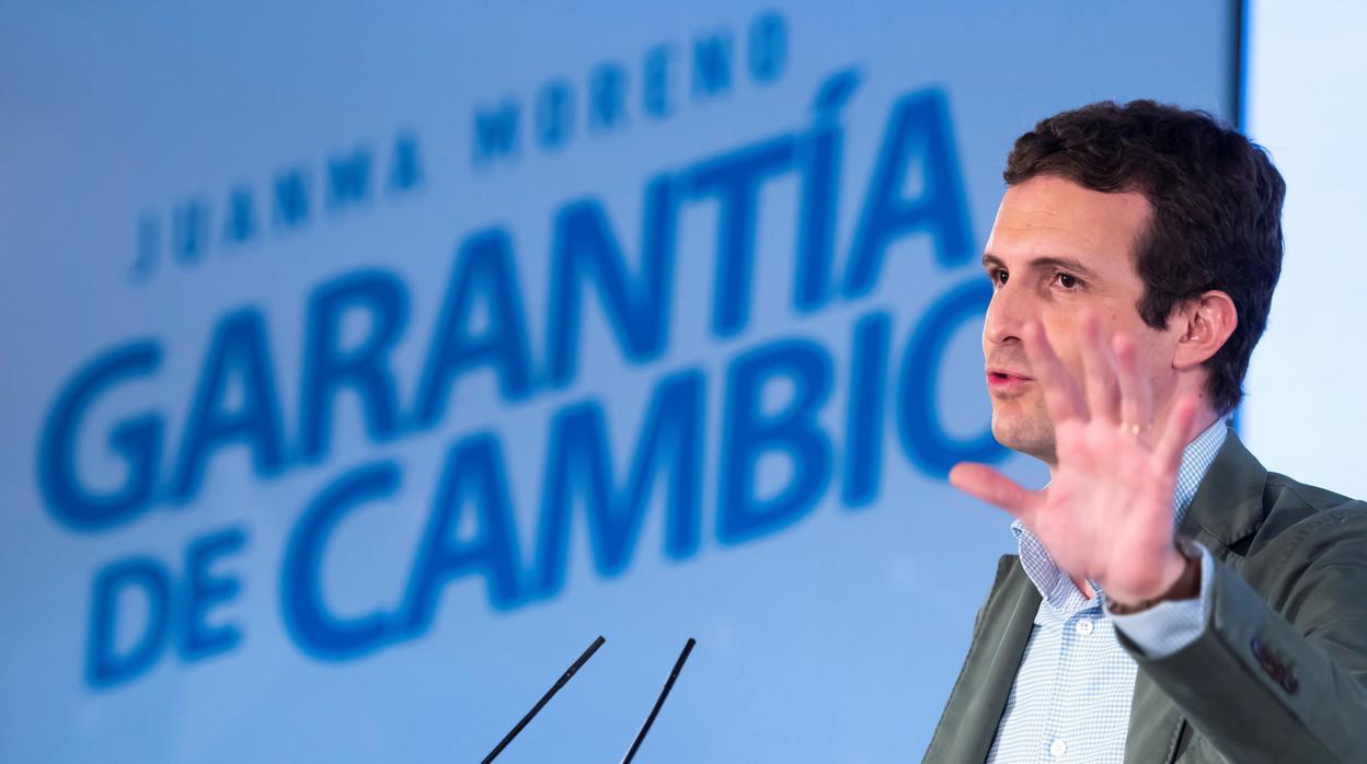 Casado acusa a Sánchez de ser un «Zapatero 2» por intentar dividir a los españoles