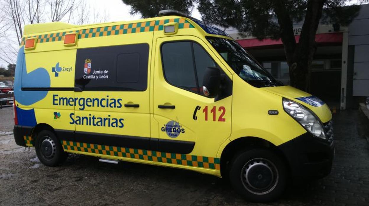Fallece un anciano en el incendio de una vivienda en Ávila