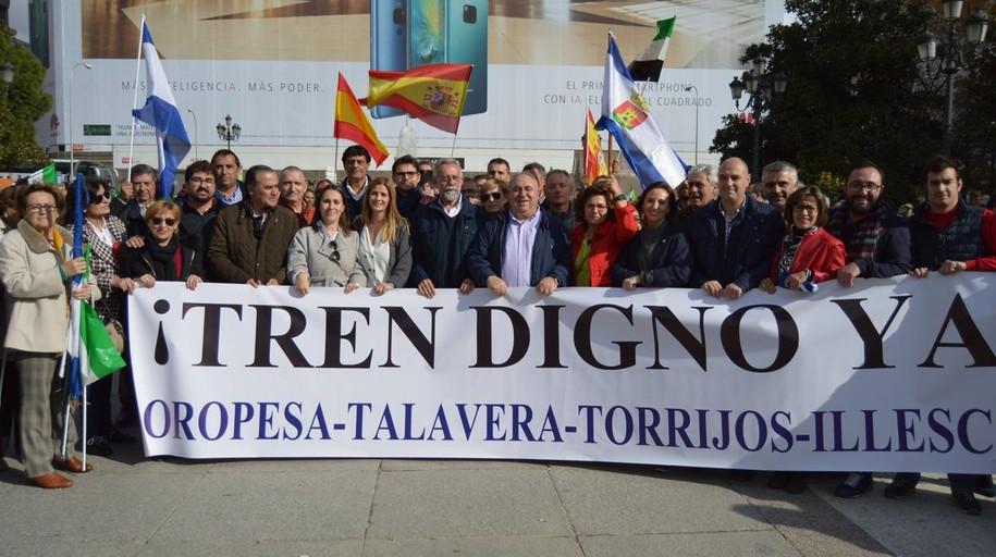 Jaime Ramos reivindica en Madrid un tren digno para Talavera