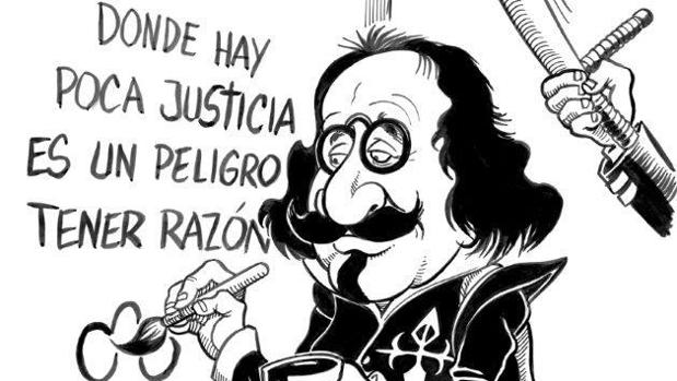 Viñeta del argentino Pablo Díaz