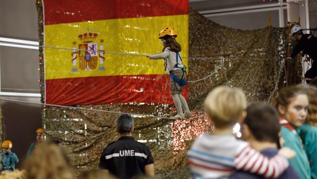 Imagen del stand del Ejército en la última edición de la feria Expojove de Valencia