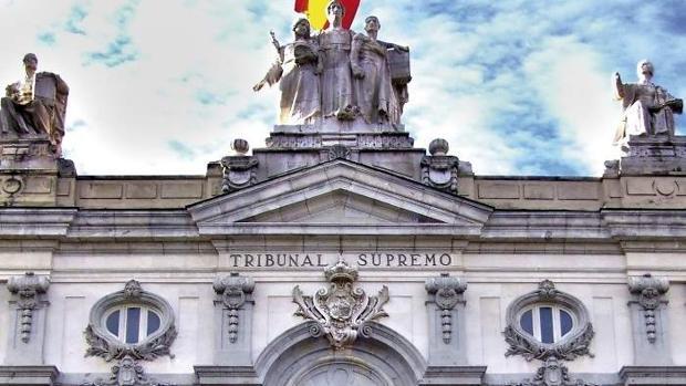 Fachada de la sede del Tribunal Supremo, en Madrid
