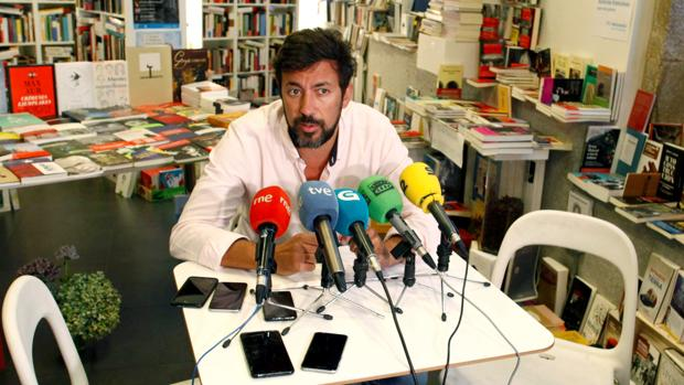 El secretario general de Podemos Galicia, Antón Gómez-Reino, en una imagen de archivo