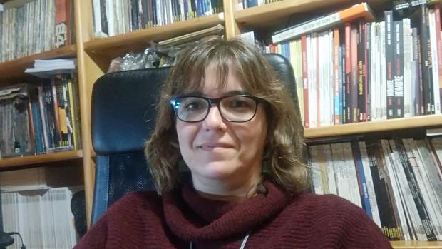 La periodista Mariángeles García, ganadora del Premio Nacional de Periodismo Miguel Delibes