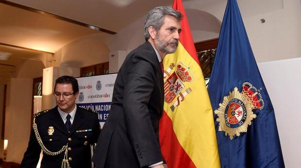 El actual presidente del Supremo, Carlos Lesmes, cuyo mandato vence el 4 de diciembre