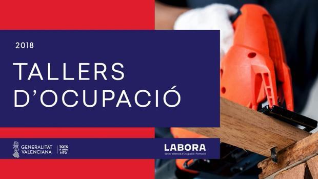 Imatge del cartell del taller d'ocupació