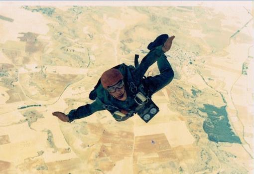 Giovanni fue paracaidista del Ejército