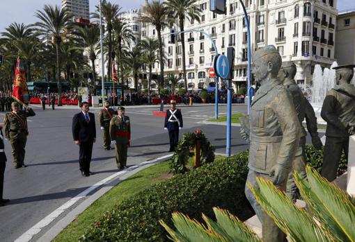 Alicante celebra el aniversario de la toma del Castillo de Santa Bárbara