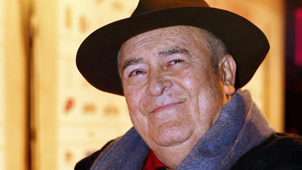 El maestro del cine italiano Bernardo Bertolucci