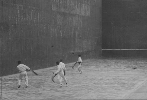 Uno de los últimos partidos celebrados en el Beti Jai, en 1919