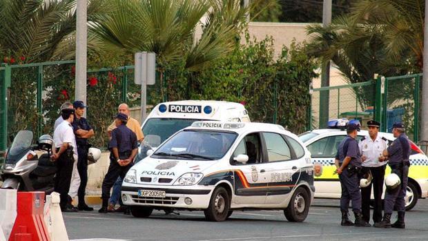Imagen de archivo de la Policía en Elche