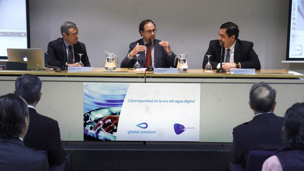 Imagen de la intervención del conseller Soler