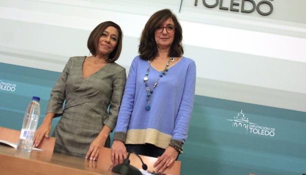 Charo Navas y Ana Gómez