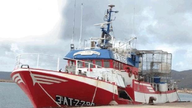 Imagen del pesquero