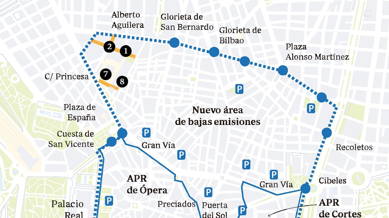 Zona Ser Madrid Mapa 2019.Madrid Central Entra En Vigor Guia Para Circular Por El Centro