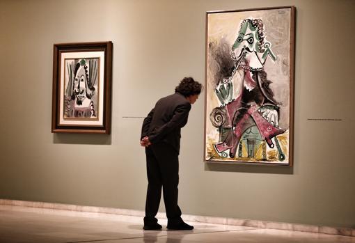 Obras de Picasso que se puede ver en la exposición de la Fundación Bancaja