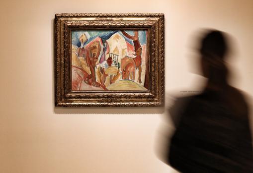 Obra de Picasso que se puede ver en la exposición de la Fundación Bancaja