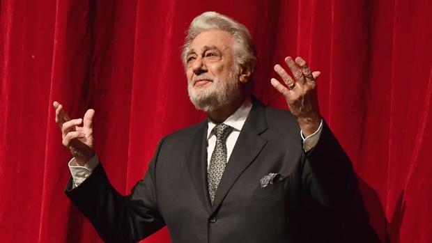 El tenor Plácido Domingo, en una imagen reciente en la Ópera Metropolitana de Nueva York