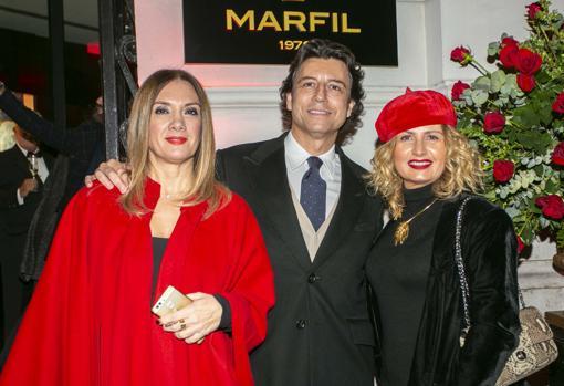 Mariola Dolz, Javier Alberni y Eva Alapont