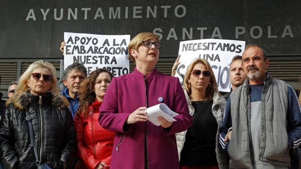 Yolanda Seva, alcaldesa de Santa Pola