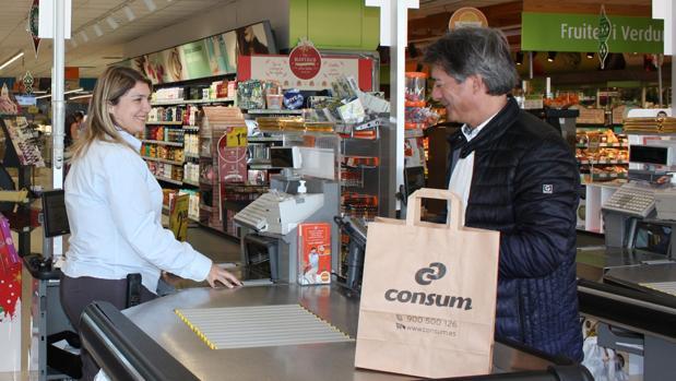 Imagen de uno de los supermercados de Consum